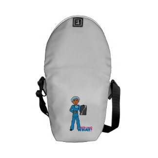 X-Ray Technologist Girl Commuter Bags