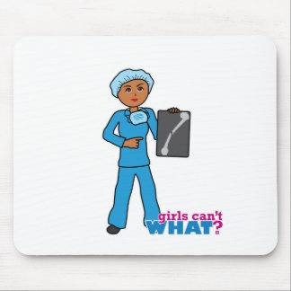X-Ray Technologist Girl Mouse Pad