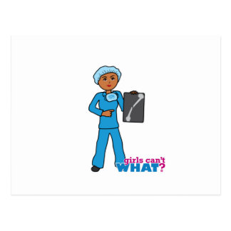 X-Ray Technologist Girl Post Card