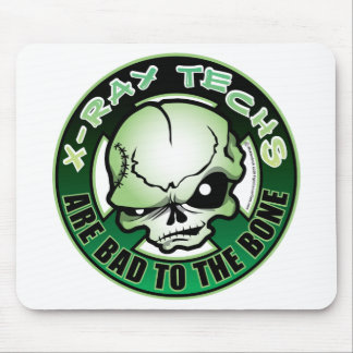 X-Ray Techs: Bad To The Bone Mouse Mat
