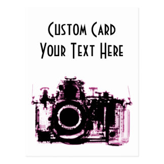 X-RAY VISION CAMERA BLACK PINK POST CARDS