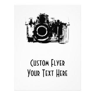 X-RAY VISION CAMERA - BLACK & WHITE 21.5 CM X 28 CM FLYER