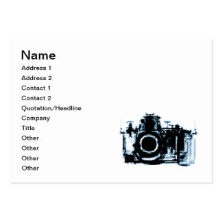 X-RAY VISION CAMERA - BLUE PACK OF CHUBBY BUSINESS CARDS