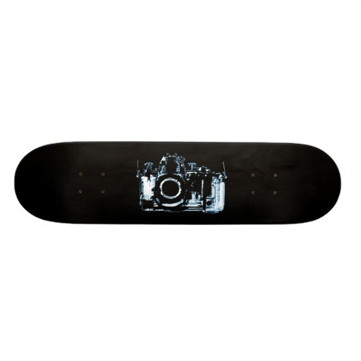 X-RAY VISION CAMERA - BLUE SKATE BOARD DECKS
