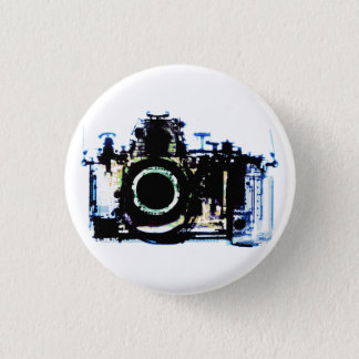 X-RAY VISION CAMERA - ORIGINAL 3 CM ROUND BADGE