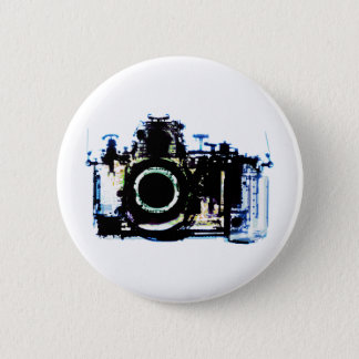 X-RAY VISION CAMERA - ORIGINAL 6 CM ROUND BADGE