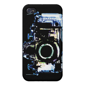 X-RAY VISION CAMERA - ORIGINAL BLUE CASES FOR iPhone 4