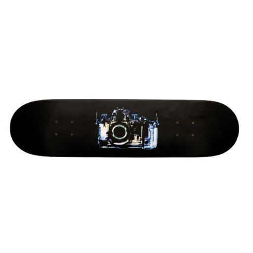 X-RAY VISION CAMERA - ORIGINAL BLUE SKATE BOARD DECKS