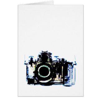 X-RAY VISION CAMERA - ORIGINAL CARD