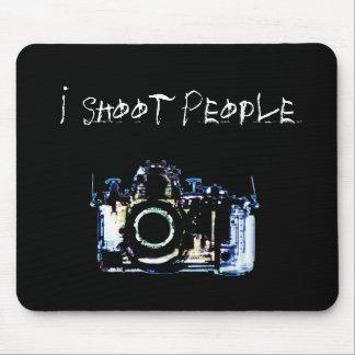X-RAY VISION CAMERA ORIGINAL - I Shoot People Mouse Mat