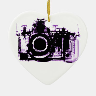 X-RAY VISION CAMERA - PURPLE CHRISTMAS ORNAMENT