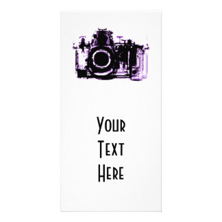 X-RAY VISION CAMERA - PURPLE PHOTO CARD