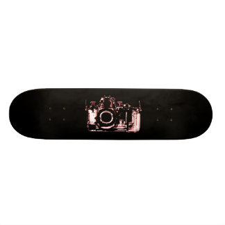 X-RAY VISION CAMERA - RED 18.4 CM MINI SKATEBOARD DECK