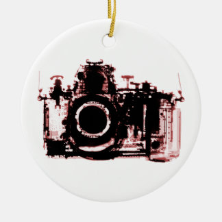 X-RAY VISION CAMERA - RED CHRISTMAS ORNAMENT