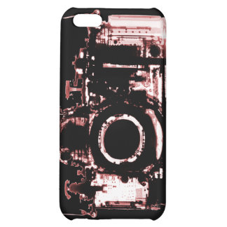 X-RAY VISION CAMERA - RED iPhone 5C COVER