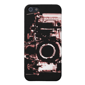 X-RAY VISION CAMERA - RED iPhone 5 COVER