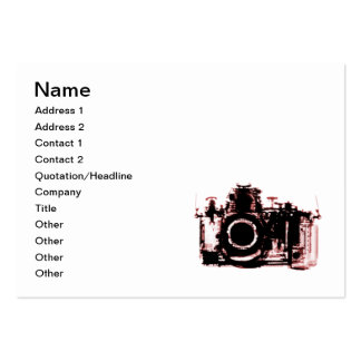 X-RAY VISION CAMERA - RED PACK OF CHUBBY BUSINESS CARDS