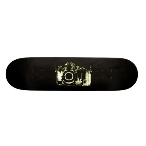 X-RAY VISION CAMERA - YELLOW SKATEBOARDS