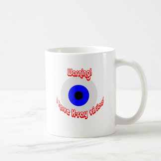X-ray Vision Eye Coffee Mug