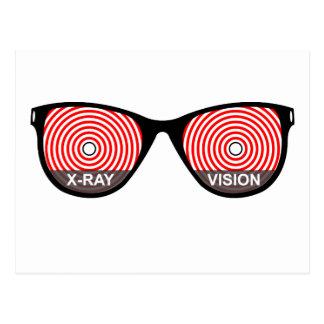 X-Ray Vision Glasses Postcard