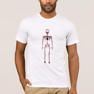 X-Ray Vision Single Skeleton White Red T-Shirt