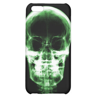 X-RAY VISION SKELETON SKULL - GREEN iPhone 5C CASES