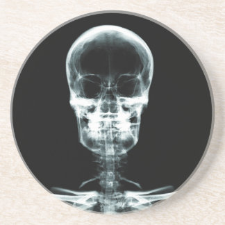 X-RAY VISION SKELETON SKULL - ORIGINAL COASTER