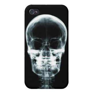 X-RAY VISION SKELETON SKULL - ORIGINAL COVER FOR iPhone 4