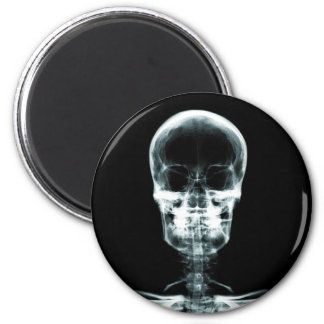 X-RAY VISION SKELETON SKULL - ORIGINAL MAGNET