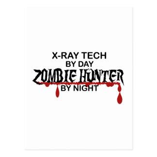 X-Ray Zombie Hunter Postcard