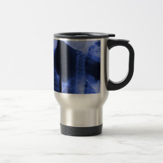 X-rayed 2 - Electromagnetic Blue Stainless Steel Travel Mug