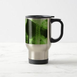 X-rayed 2 - Radioactive Green Stainless Steel Travel Mug