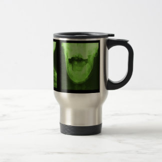 X-rayed 3 - Radioactive Green Travel Mug