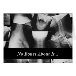 X-rayed Card