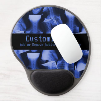 X-Rayed Electromagnetic Blue Gel Mouse Mat
