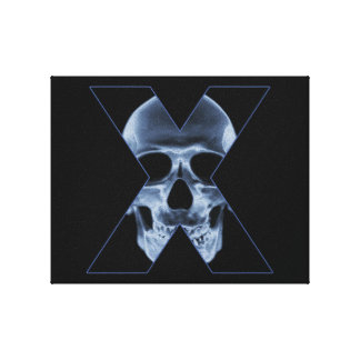 X-Skull Canvas Print