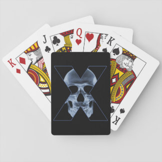 X-Skull Playing Cards