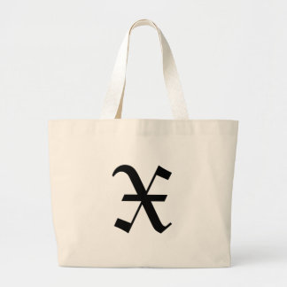 X-text Old English Large Tote Bag