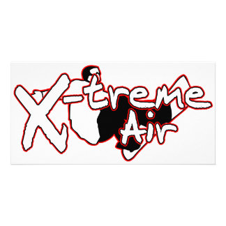 X-Treme Air Personalized Photo Card