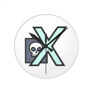 X XRAY WALL CLOCK