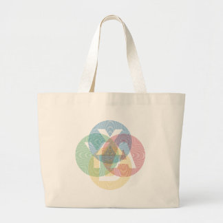 XABY Colored Tote Bag