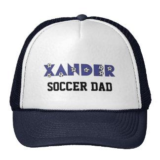 Xander in Soccer Blue Cap