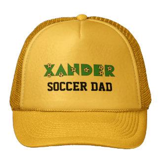 Xander in Soccer Green Cap