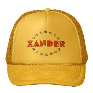 Xander in Soccer Red Cap