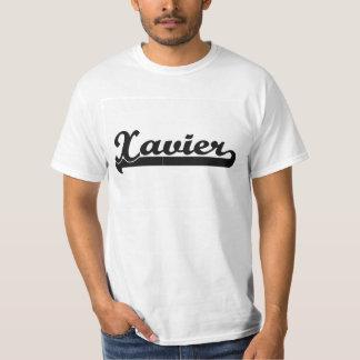 Xavier Classic Retro Name Design Shirts