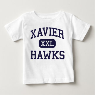 Xavier - Hawks - High School - Appleton Wisconsin Baby T-Shirt