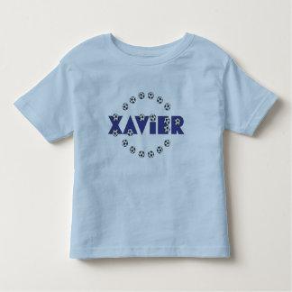 Xavier in Soccer Blue Tshirt