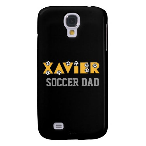 Xavier in Soccer Gold Galaxy S4 Covers