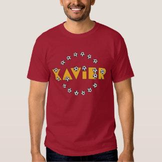Xavier in Soccer Gold T Shirts