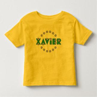 Xavier in Soccer Green Shirt